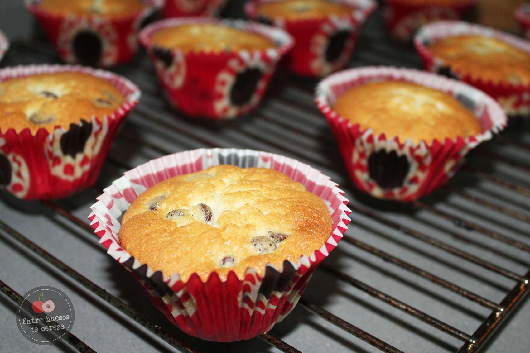 entrehuesosdecereza cupcakes chocolate